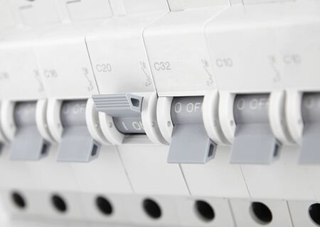 circuit breakers, toggle off and control of electricity supply, fuse for safety from electric shock