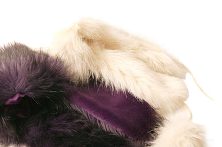 Cap with fur, russian hat, isolated Stock Photo