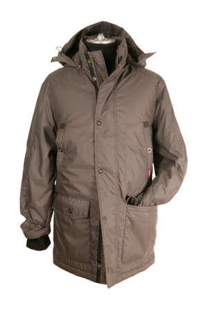 Men dummy with jacket
