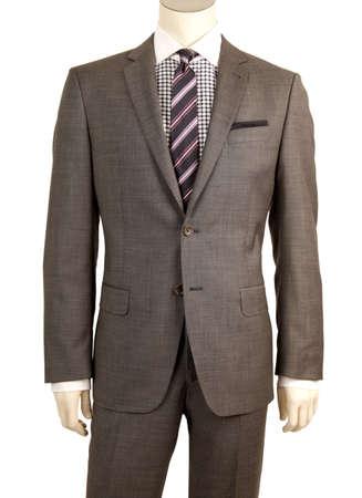 Men dummy in suit
