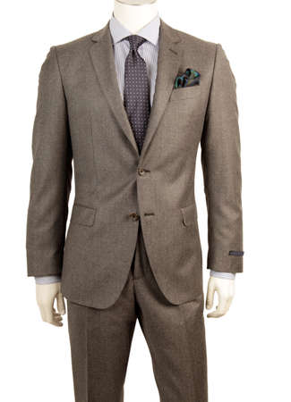 tailored: Men dummy in suit