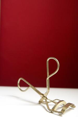 curler: Eyelash curler Stock Photo