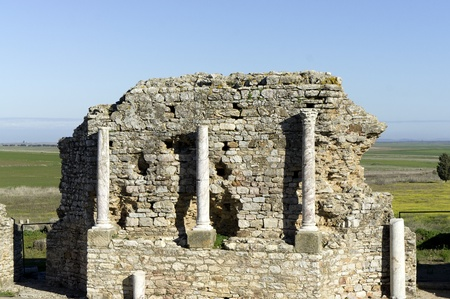 regina: Roman ruins of Regina