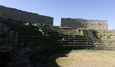 regina: Roman ruins of Regina 7 Stock Photo