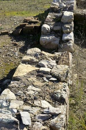 regina: Roman ruins of Regina 9 Stock Photo