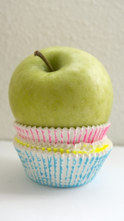 An apple better than a cupcake diet photo