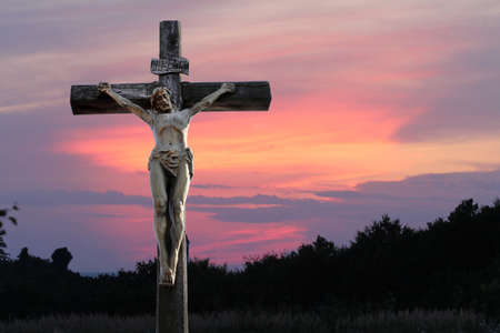 Crucifixion of Jesus Christ photo