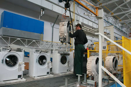 Production of washing machines