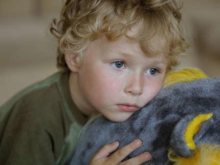 sad boy: sad boy Stock Photo