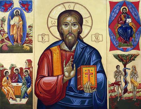 vierge marie: Eglise icône Banque d'images
