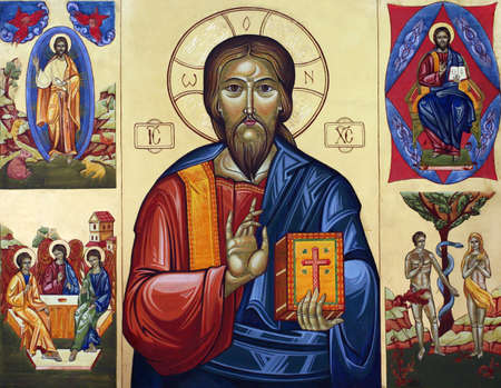 virgen maria: Icono de la Iglesia