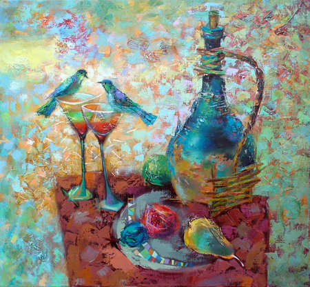 oil paints picture photo