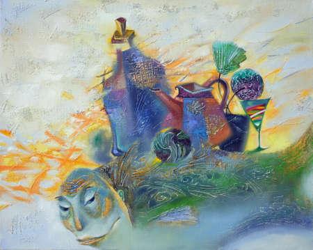 paints: oil paints picture