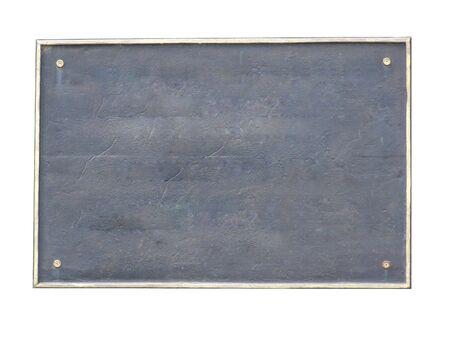 oxidated: Old bordo, marco, placa, de edad, placa,