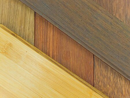 goldish: Here is a stack of lumber of different designs Stock Photo