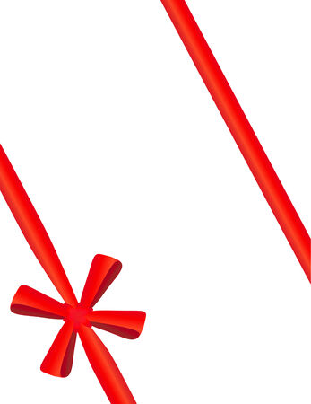 packing tape: Red tape with a bow packing of a celebratory gift