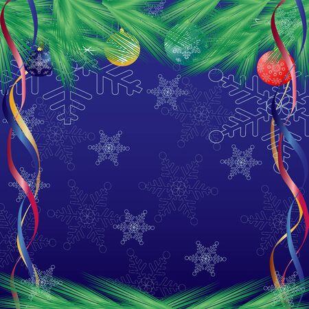 Christmas abstraction. Vector illustration for design illustration