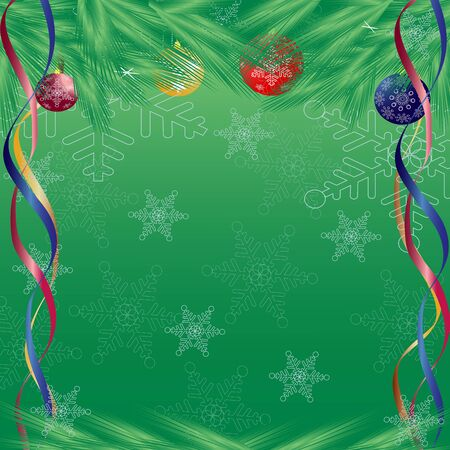 Christmas abstraction. Vector illustration for design. illustration