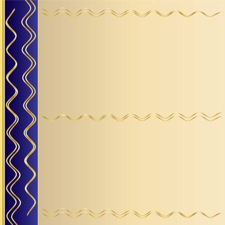 gold leafs: Seamless background pattern, Fashionable modern wallpaper or textile Stock Photo