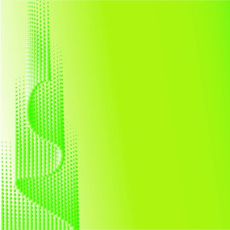 Green half-tone background. Vector illustration