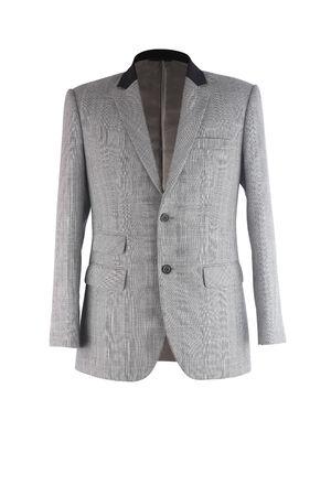 traje formal: Traje de negocios aislados en blanco