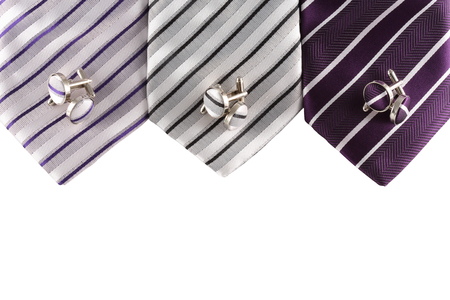 cuff: neckties with cuff links