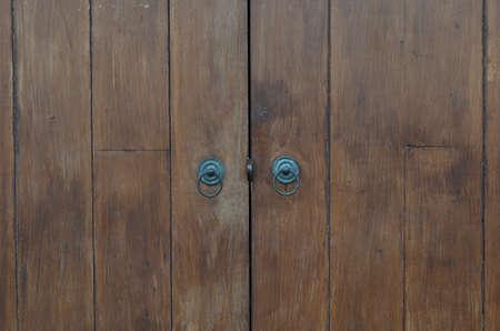 Antique door texture old brown Stock Photo