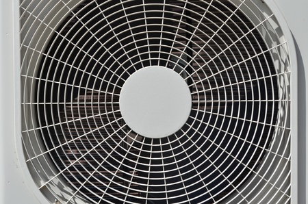 Fan for cooling the outside air