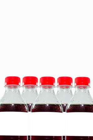 Soft drink on a white background Stockfoto