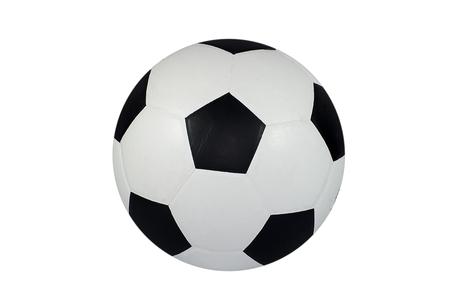 Football on white background Stockfoto
