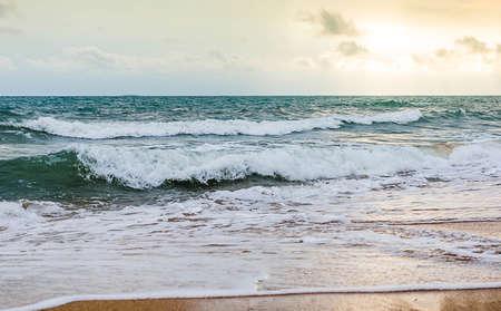 Photos of ocean waves and beaches Stockfoto