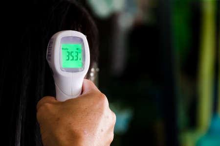 COVID-19 Body temperature measuring for controlling disease.