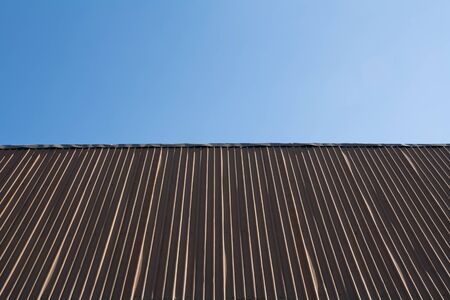 Pattern of zinc roofing. Stock Photo - 11787805