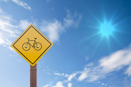 Bicycle sign photo