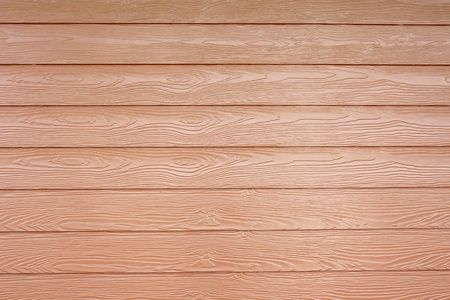horizontal position: Wooden walls in a horizontal position Stock Photo