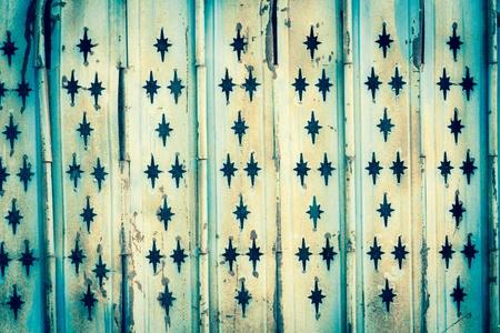 Close up of detail of old slide door Stock Photo - 13928193