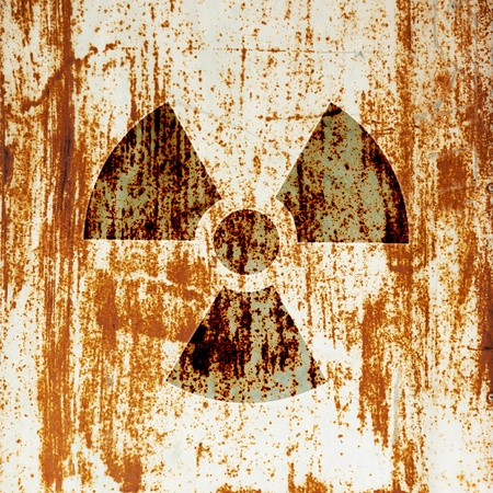 radioactivity warning symbol Stock Photo - 14078462