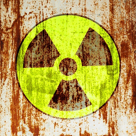 radioactivity warning symbol photo