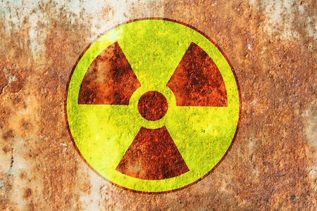radioactivity warning symbol photo