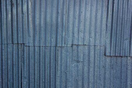 A rusty corrugated iron metal texture  Stock Photo - 14481357