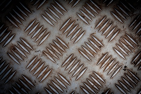 pattern style of steel floor for background Stock Photo - 14481353