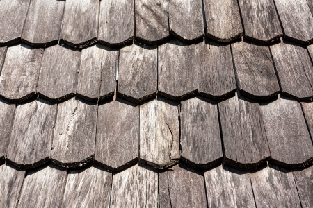 Old Wooden Roof photo