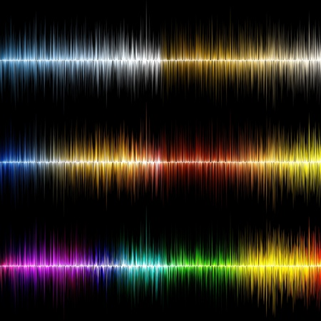 Abstract music equalizer photo