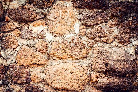 Rock wall vintage tone
