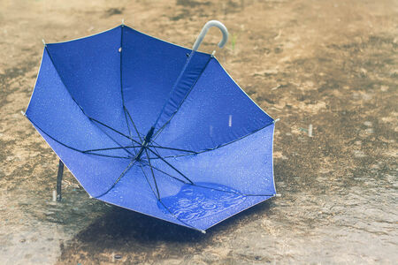 umbrella in vintage tone