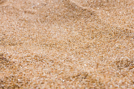 close up of sea beach sand or desert sand for texture and background photo
