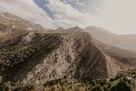 Mountains near Old Bar, Montenegro