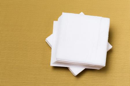 paper napkin on textured background Stock Photo - 117030527