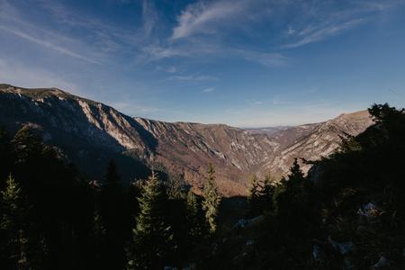 Zabljak in Montenegro , mountain view