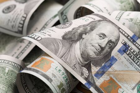 dollars lie chaotically - Image